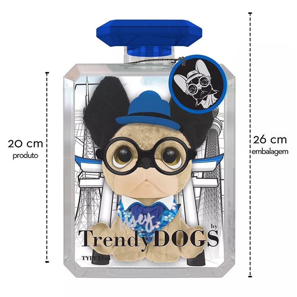 Trendy Dog Pelúcia Perfumada 20 cm Issey G 8006-5 Fun Divirta-se