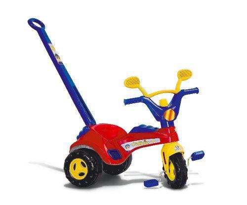 Triciclo Infantil Velotrol Policial c/ Haste Buzina 1468 Cotiplás