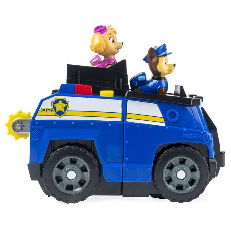 Veiculo 2 em 1 e Figuras - Patrulha Canina Split Second Veículos Chase e Skye 1287 Sunny