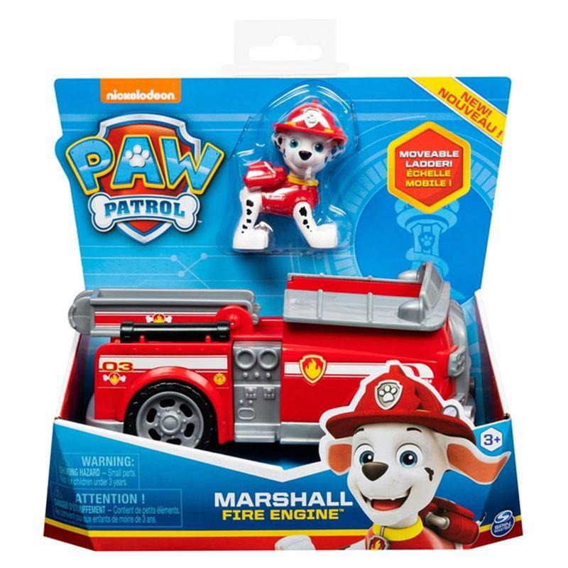 Veículo Patrulha Canina e Boneco Marshall Fire Engine 1389 Sunny