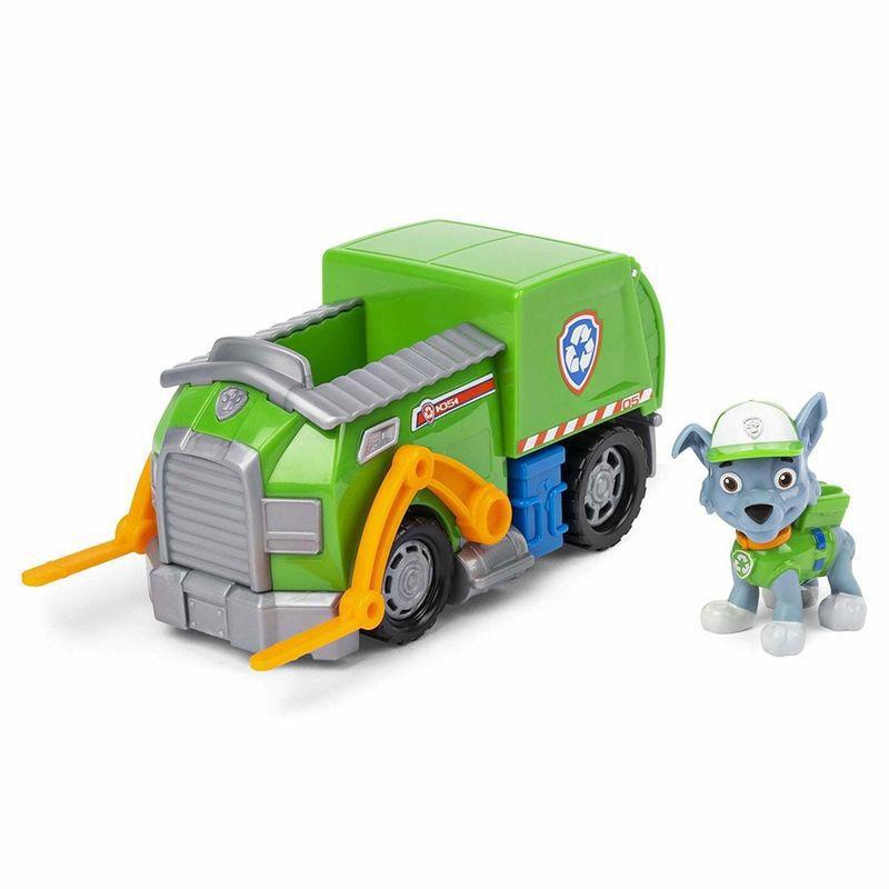 Veículo Patrulha Canina e Boneco Rocky Recicle Truck 1389 Sunny