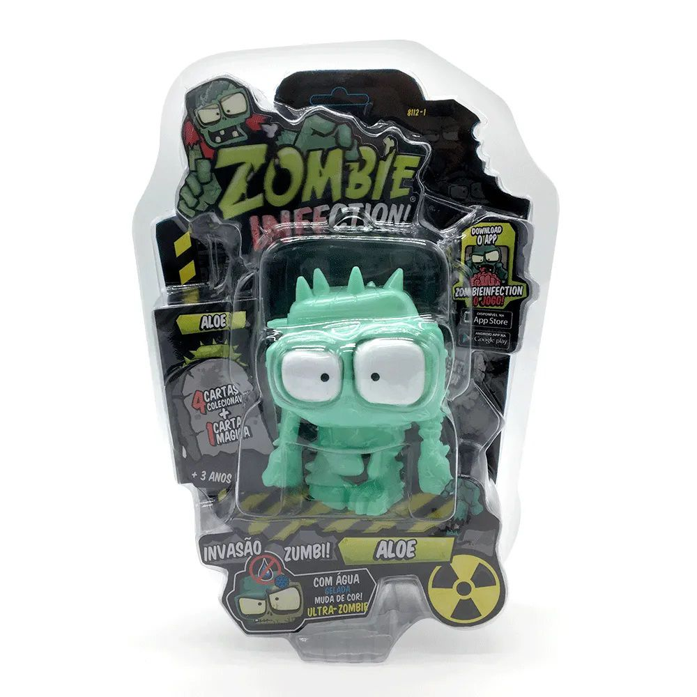 Zombie Infection! Boneco Aloe Fun Divirta-se