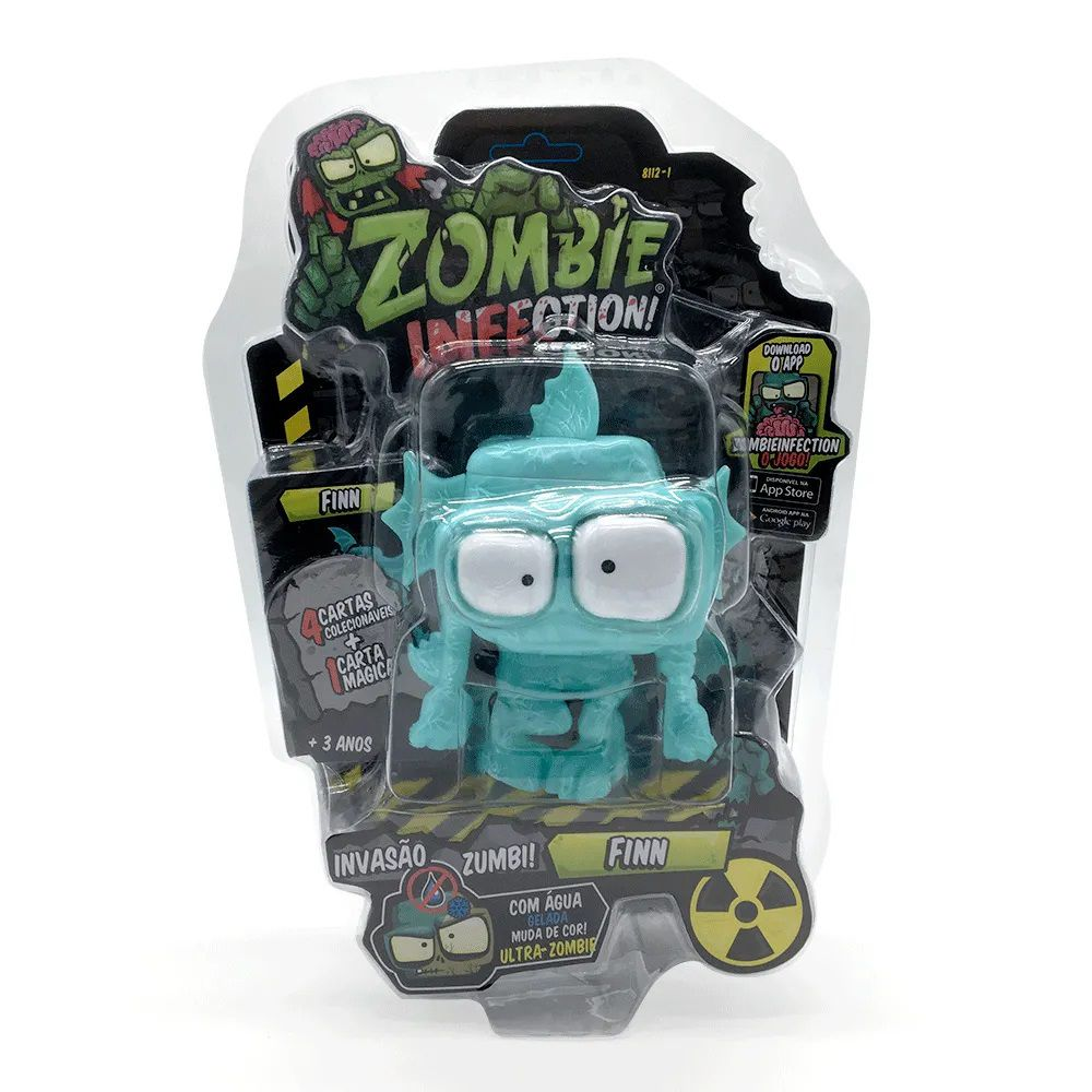 Zombie Infection! Boneco Finn Fun Divirta-se