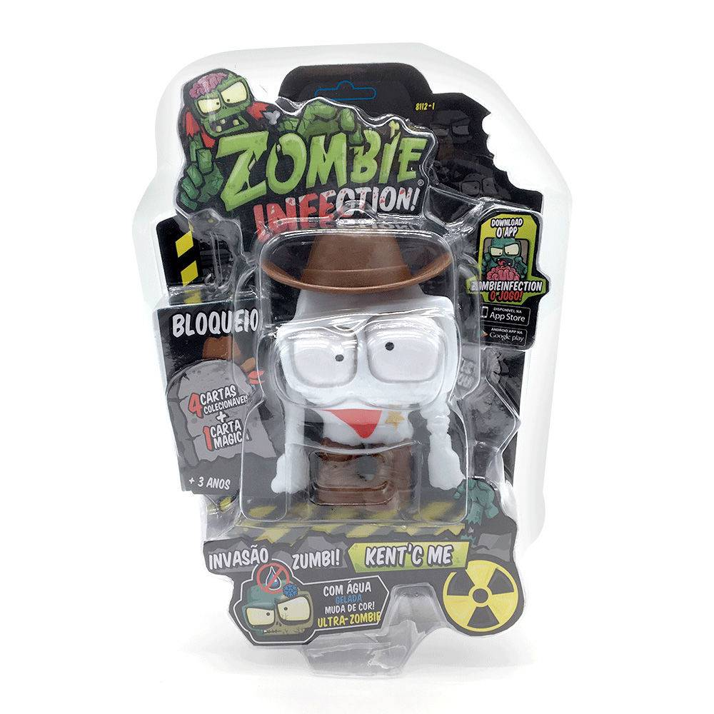 Zombie Infection! Boneco Kent C Me Fun Divirta-se