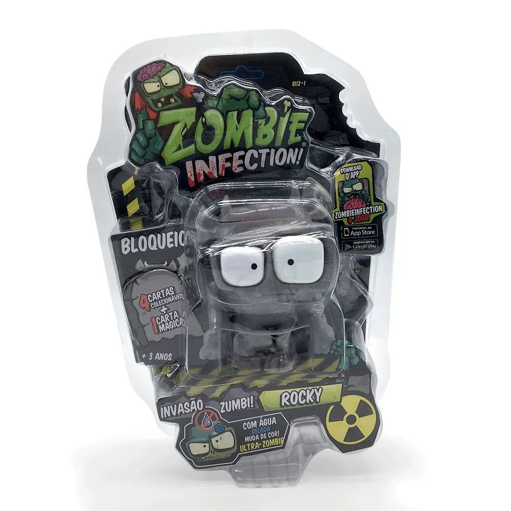 Zombie Infection! Boneco Rocky Fun Divirta-se