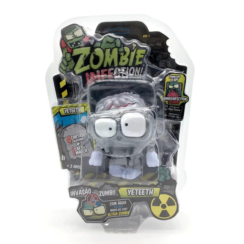 Zombie Infection! Boneco Yeteeth Fun Divirta-se