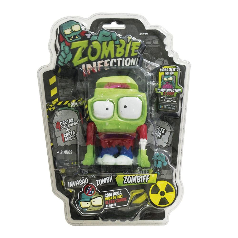 Zombie Infection! Boneco Zombiff Fun Divirta-se