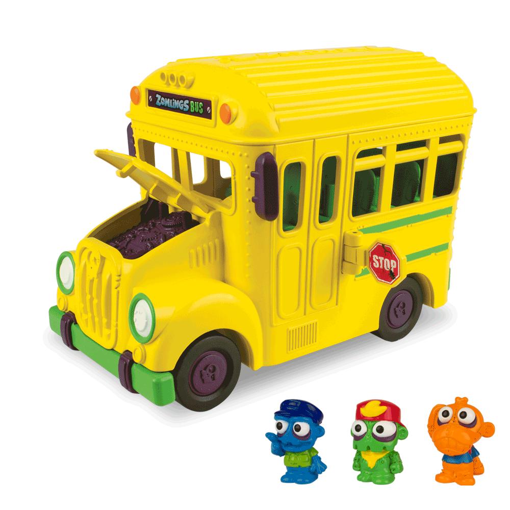 Zomlings Playset Ônibus Zombie 82712 Fun Divirta-se