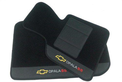 Tapete Chevrolet Opala Kit Assoalho Porta Malas E Capa