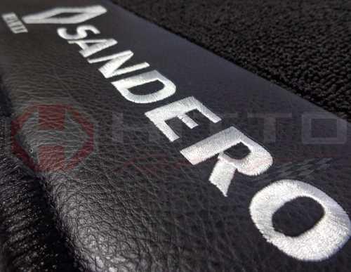 Tapete Carpete Porta Malas Linha Premium  Sandero