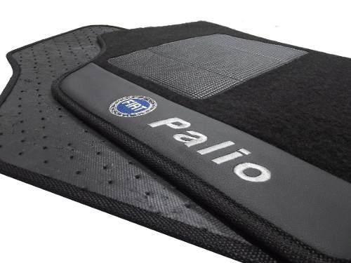 Tapete Fiat Palio Carpete Luxo Base Pinada