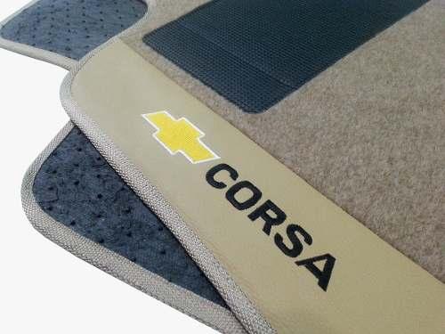 Tapete Corsa Gsi 16v Carpete Luxo  Base Pinada Hitto O Melhor!