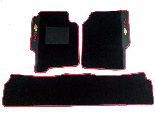 Tapete Carpete  Luxo Gm Bonanza Cd (3 Peças)