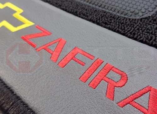 Tapete Chevrolet Zafira Carpete Premium  Base Pinada