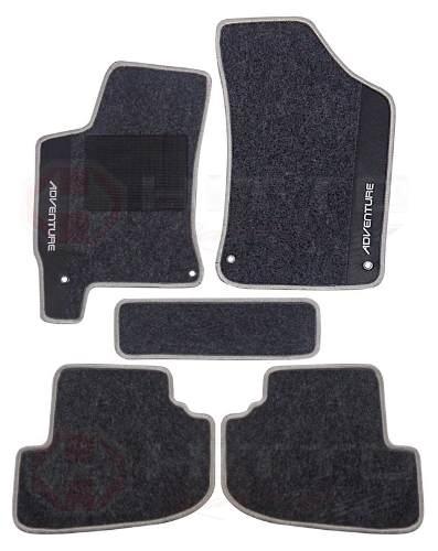 Tapetes Carpete Fiat Adventure Luxo Base Pinada