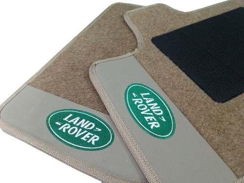 Carpete Land Rover Evoque 2016 Carpete Luxo Base Pinada