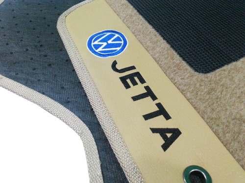 Tapete Jetta 2011/2014 Carpete Luxo Base Pinada