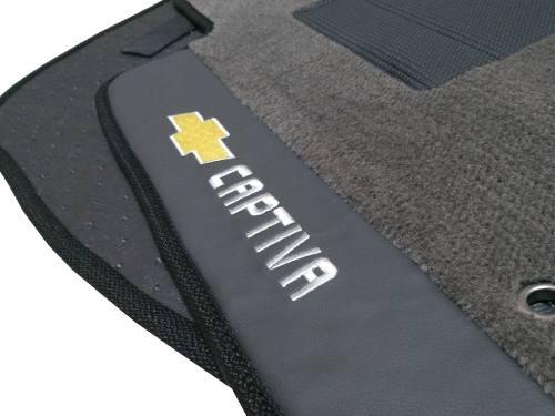Tapete Chevrolet Captiva 2014 Carpete Linha Premium