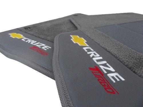Tapete Cruze Novo Original GM Carpete Linha Premium