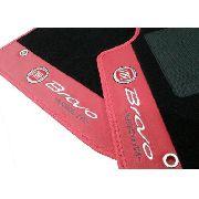 Tapete Fiat Bravo Absolute Carpete Luxo Base Pinada