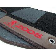 Kit Assoalho+ Porta Malas Peugeot 2008 Carpete