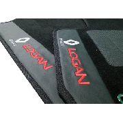 Tapete Renault Logan .../2013 Carpete Luxo Base Pinada