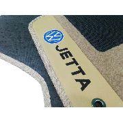 Tapete Jetta Carpete Luxo Base Borracha Pinada