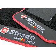 Tapete Fiat Strada Sporting Carpete Premium  Base Pinada