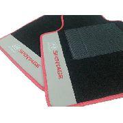 Tapete Kia Sportage 2011/... Carpete Luxo Base Pinada