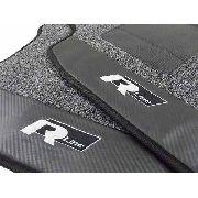 Tapete Vw Golf Rline Carpete Premium Base Pinada
