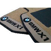 Tapete Bmw X1 Bege Carpete Premium Base Pinada Hitto