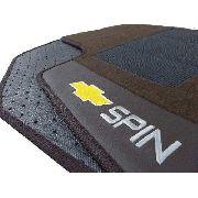 Tapete Chevrolet Spin Carpete Luxo Base Borracha Pinada