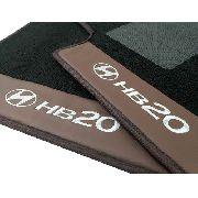 Tapete Hyundai Hb20 Carpete Premium Base Pinada