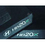 Tapete Hyundai Hb20x Hitto Carpete Luxo Base Pinada