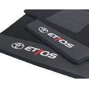 Tapete Toyota Etios Carpete Luxo Base Pinada Hitto
