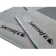 Tapete Hyundai Santa Fé 2007 A 2013 Carpete 8mm Base Pinada