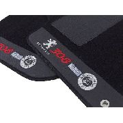 Tapete Peugeot 307 Carpete Premium  Base Pinada