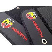 Tapete Fiat 500 Abarth Carpete Premium  Alto Padrão!