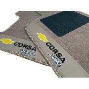 Tapete Chevrolet Corsa Carpete 8mm Base Pinada Hitto