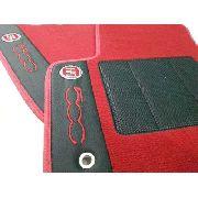 Tapete Fiat 500 Carpete Premium 12mm Base Pinada