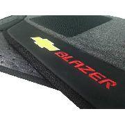 Tapete Chevrolet Blazer Executive Carpete Linha Premium 12mm