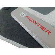 Tapete Nissan Frontier Carpete Premium 12mm base pinada