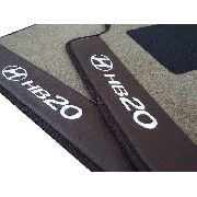 Tapete Hb20 Carpete Luxo Base Pinada De Borracha