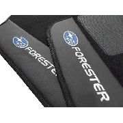 Tapete Subaru Forester Carpete Luxo Base Pinada