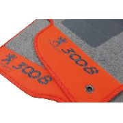 Tapete Peugeot 3008 Personalizado Carpete 8mm Base Pinada