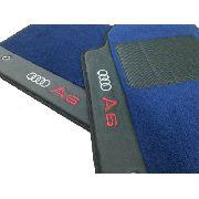Tapete Audi A6 Carpete Premium 12mm Base Pinada