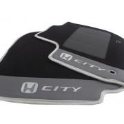 Jogo de Tapetes Honda City Luxo Base Pinada Orginal