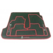 Kit Tapete Assoalho+Porta Malas Fluence Carpete luxo HItto