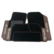 Kit Tapete Hyundai Hb20 Carpete Premium 12mm Base Pinada