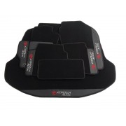 Kit Tapetes+Porta Malas Corolla Alltis Carpete Premium